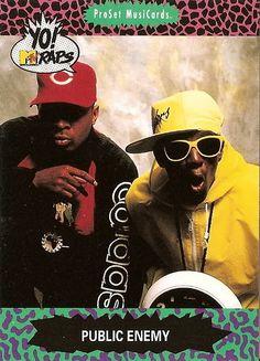 yo MTV raps, Public Enemy card