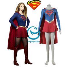 Women's Costumes Costumes & Accessories Devoted Supergirl Kara Zor-el Cosplay Costume Superhero Cosplay Costumes For Halloween Traveling