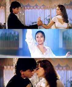 """Have you ever … even for a day … even for a moment … loved me?"" Dil To Pagal Hai (1997)"