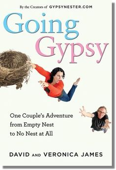 """Hey fellow RVers! We have our book cover for Going Gypsy! YAY! You've GOT to read the hysterical story behind it! http://www.gypsynester.com/going-gypsy-cover.htm """"Ditching the minivan for an RV, the story of an empty nest couple's hilarious journey of self-rediscovery."""" #books #GoingGypsy"""