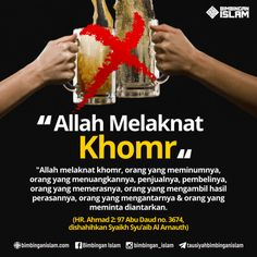 Alcohol drinks is forbidden in Islam. Islamic Inspirational Quotes, Islamic Quotes, Religion Quotes, All About Islam, Self Reminder, Muslim Quotes, Islamic Pictures, Islam Quran, Mood Quotes