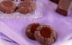 Biscotti al cioccolato di Martha Stewart: i Chocolate Thumbprint Cookies