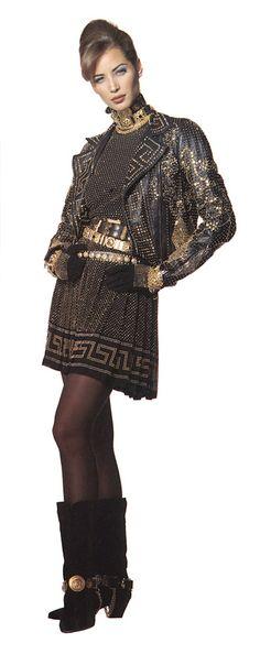 Vintage Versace. 80s fashion rocks.