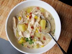 http://www.seriouseats.com/recipes/2012/12/chicken-chowder-with-potato-bacon-and-corn-recipe.html#