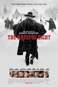 The Hateful Eight Acquista su Ibs.it Soundtrack The Hateful Eight directed by Quentin Tarantino with Samuel L. 2015 Movies, Hd Movies, Movies To Watch, Movies Online, Movies And Tv Shows, Movie Film, Action Movies, Netflix Online, Tv Watch