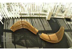 Spill II Seating, Steam Bent White Oak [Image Via Matthias Pliessnigu0027s  Website]