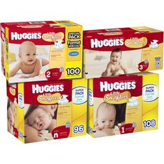 I'm learning all about Huggies Little Snugglers Diapers Super Pack Choose Your Size at @Influenster!