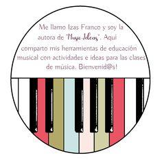 Recursos y materiales para las clases de música. Blog sobre actividades de educación musical