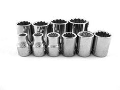 Craftsman 10pc 38 SAE 12pt Sockets New Tools 141316 Standard Set NEW *** Read more reviews of the product by visiting the link on the image.