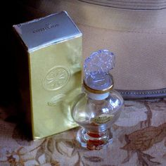 "Avon Collectible Perfume Bottles 1960s | Vintage Avon ""Cotillion"" Cologne Perfume Bottle"