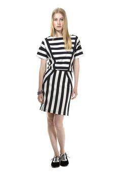 Scooter Stripe: en vestido, falda y blusa.   ¿Cuál te gusta más?
