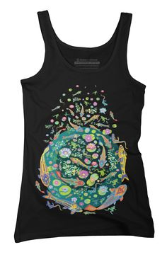 Small ponds Womens Tank Top