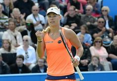 """6/20/15 Angie Into #AegonClassic FINAL! ...Via Tennis_Now:  Kerber downs Lisicki [in All-German contest] to set up final with Pliskova in Birmingham. ANGIE: """"I feel like I'm always very ready for every match against Sabine,"""" ... """"Sabine is a great grass court player and serves very well, so my goal was to return very well, and I think it worked very well.  """"Every match here I've been starting from zero and I've just tried to be ready from the first point."""""""