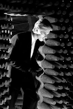 David Bowie, The Man Who Fell to Earth/Station to Station   by  Steve Schapiro
