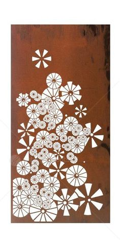 Laser Cut Wall Art Screen - Brolly from Earth Homewares