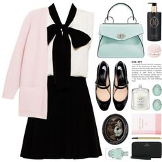 happy easter by jesuisunlapin on Polyvore featuring By Malene Birger, Alice   Olivia, Zara, Proenza Schouler, Estée Lauder, Frontgate, Thrive, GreenGate and Kate Spade