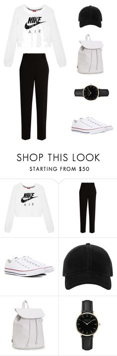 """""""My First Polyvore Outfit"""" by explorer-14911091355 ❤ liked on Polyvore featuring NIKE, The Row, Converse, rag & bone, Aéropostale and ROSEFIELD"""