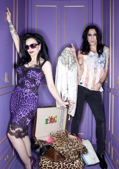Fotografía facilitada por la MTV de la cantante Alaska y su marido, Mario Vaquerizo (Spain)