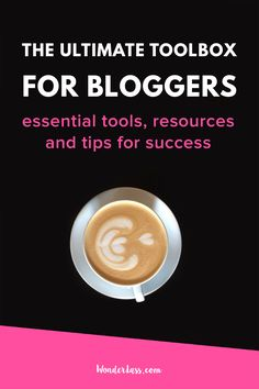 Get the tools, resources and crucial entrepreneurial mindset that you need in order to grow a successful blog or online business! Epic tips, tools and resources for bloggers and online entrepreneurs | Wonderlass