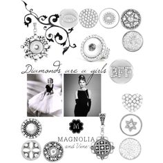 diamonds are a girls bff by magnolia-and-vine-melissa on Polyvore featuring MARBELLA