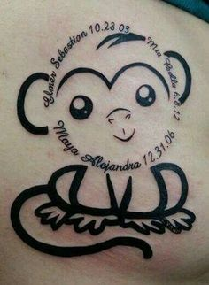 tatuajes de fechas de nacimiento diseño