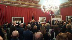 """Inaugurazione mostra """"I nuovi Pellegrini"""" della Fondazione Farmafactoring al Museo Diocesano di Palermo, 10 marzo 2016"""