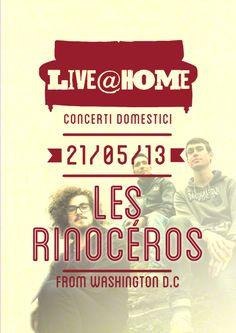 Live@Home | 3 - Les Rhinocèros