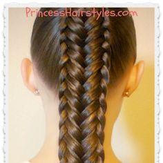 Twisted Edge Fishtail Braid Hair Tutorial