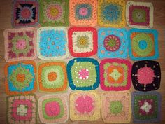 More afghan ideas.   gemmipop designs: Granny a Day - 20 day round-up!