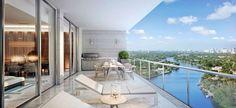 Riva es un nuevo proyecto frente al río de poco 100 residencias de condominios…