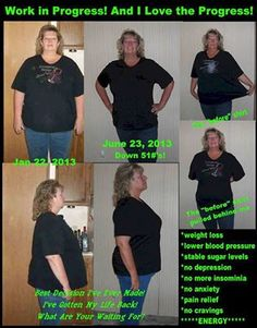 Here's Karens story! I am so proud of you Karen keep up the great work!!   Best decision I've ever made! Easiest thing I've ever done and I've done them all! We SAVE money by being on this program! we eat less = 1/2 the grocery bill. we cut out mochas and no longer eat out much because we never finish our meal. So blessed to have found this program