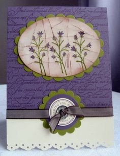 Cracked Glass technique card