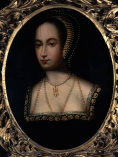 The 16th century Loseley Hall Portrait of Queen Anne Boleyn, by an unknown…