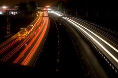 More long exposure on the motorway