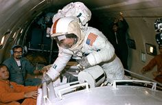 The Incredible Things NASA Did to Train Apollo Astronauts Apollo 11 Launch, Apollo 16, Eugene Cernan, Space Shuttle Missions, Apollo Space Program, One Small Step, Kennedy Space Center, Man On The Moon
