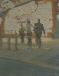 "Peter Horn, ""Prater 1"" (2010), 100cm x 80cm"