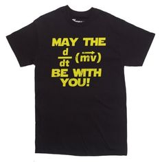 May+The+Force+Be+With+You+Math/Physics+Shirt+on+www.amightygirl.com