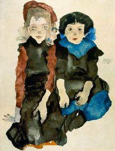 Egon Schiele Riproduzioni e dipinti di COPIA-DI-ARTE.COM