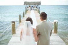 ponton mer cérémonie de mariage