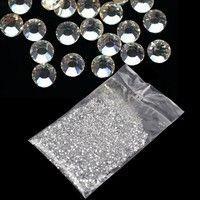 Wish   20000Pcs 1.5mm 3D Round Rhinestone Acrylic Nail Art Glitter Crystal Deco HOT NEW 7_S