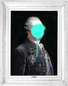 Mineheart - Eccentric British Design - 'Monsieur Mint' Stretched Printed Canvas, £183.00 (http://www.mineheart.com/monsieur-mint-stretched-printed-canvas/)