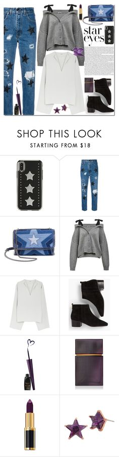 """star 3"" by ozlem-ozcanb ❤ liked on Polyvore featuring History Repeats, STELLA McCARTNEY, Talbots, Elizabeth and James, Balmain, Betsey Johnson and StarOutfits"