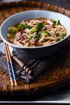 Vietnamese Pork Noodle Soup