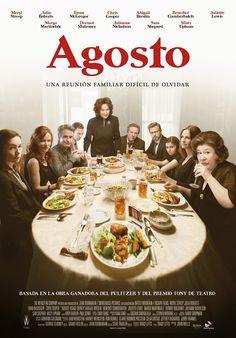 Ayer viernes 10 de enero se estrenó en los cines españoles 'Agosto'  una película con un magnífico reparto: Meryl Streep, Julia Roberts, Ewan McGregor  (...)