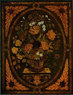 Louis XVI style marquetry