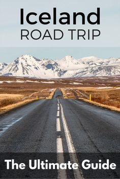 The ultimate guide for your Iceland road trip, including the ring road, essential itinerary, driving, packing, tips and many extras!
