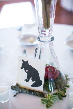 Snow White inspired wedding.