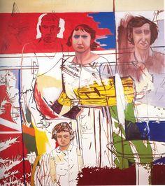 Jeffrey Harris #Art Artist Painting, Figure Painting, Painting & Drawing, New Zealand Art, Nz Art, Teaching Art, Figurative Art, Painting Portraits, Printmaking