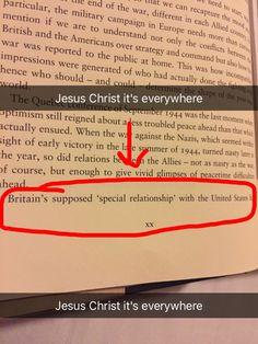 My book got me thinking about UsUk God dammit