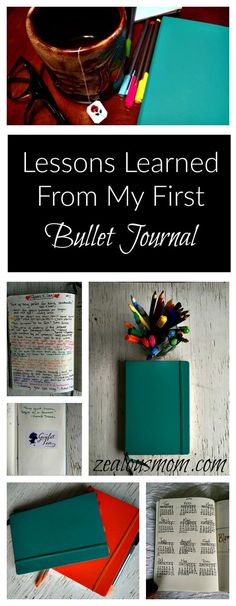 Tips and lessons I learned from my first Bullet Journal. Now, on to Bullet Journal #2!